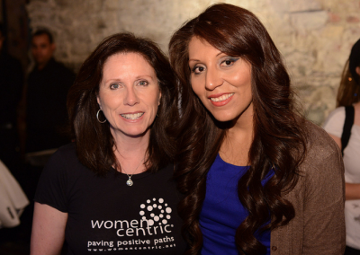 Pattie Simone with Cynthia Hellen at Girls Who Rock Concert