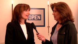Pattie Simone Interviewing Susan Sobbott, President of American Express OPEN